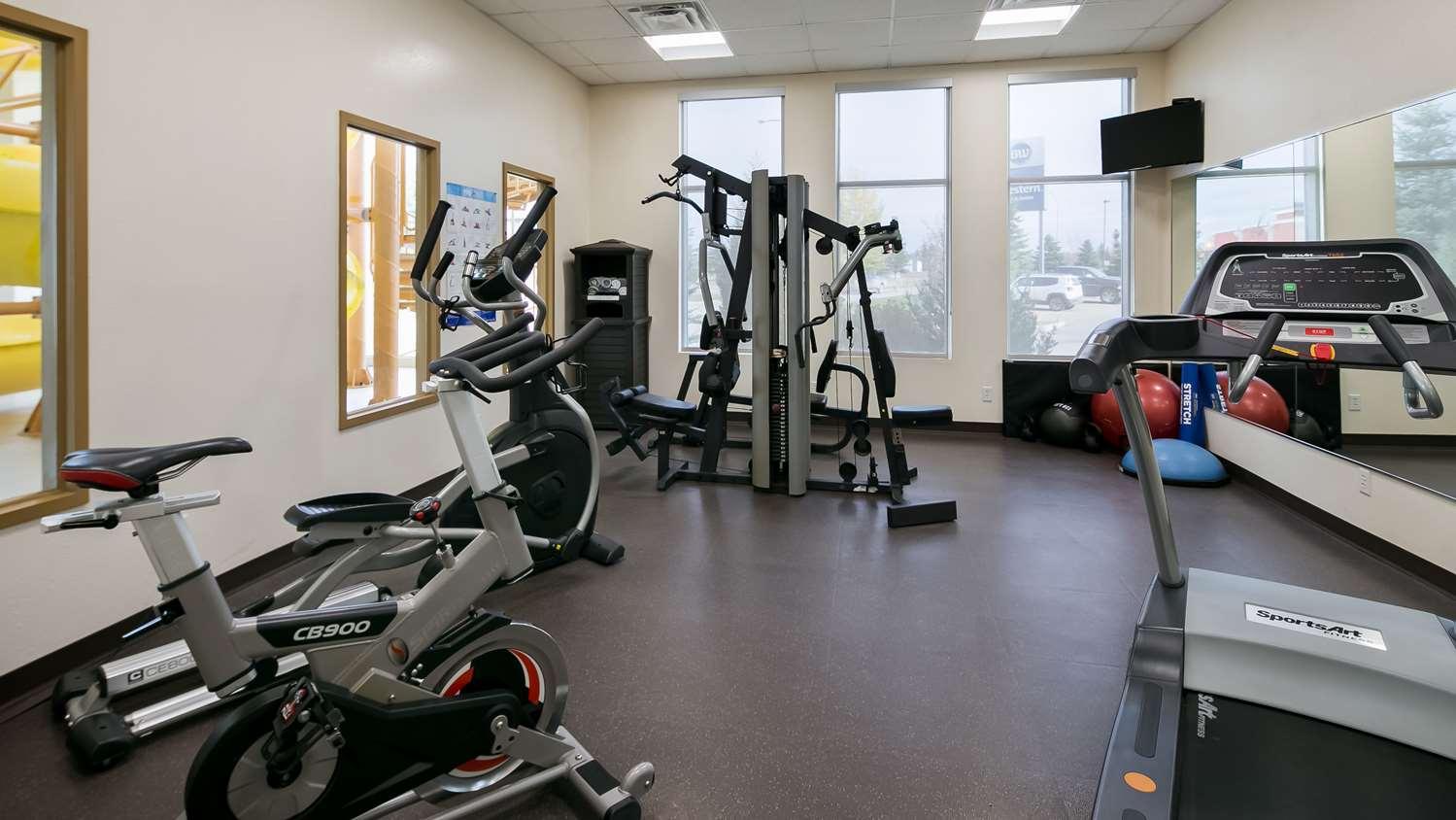 Fitness/ Exercise Room - Best Western Rocky Mountain House Inn