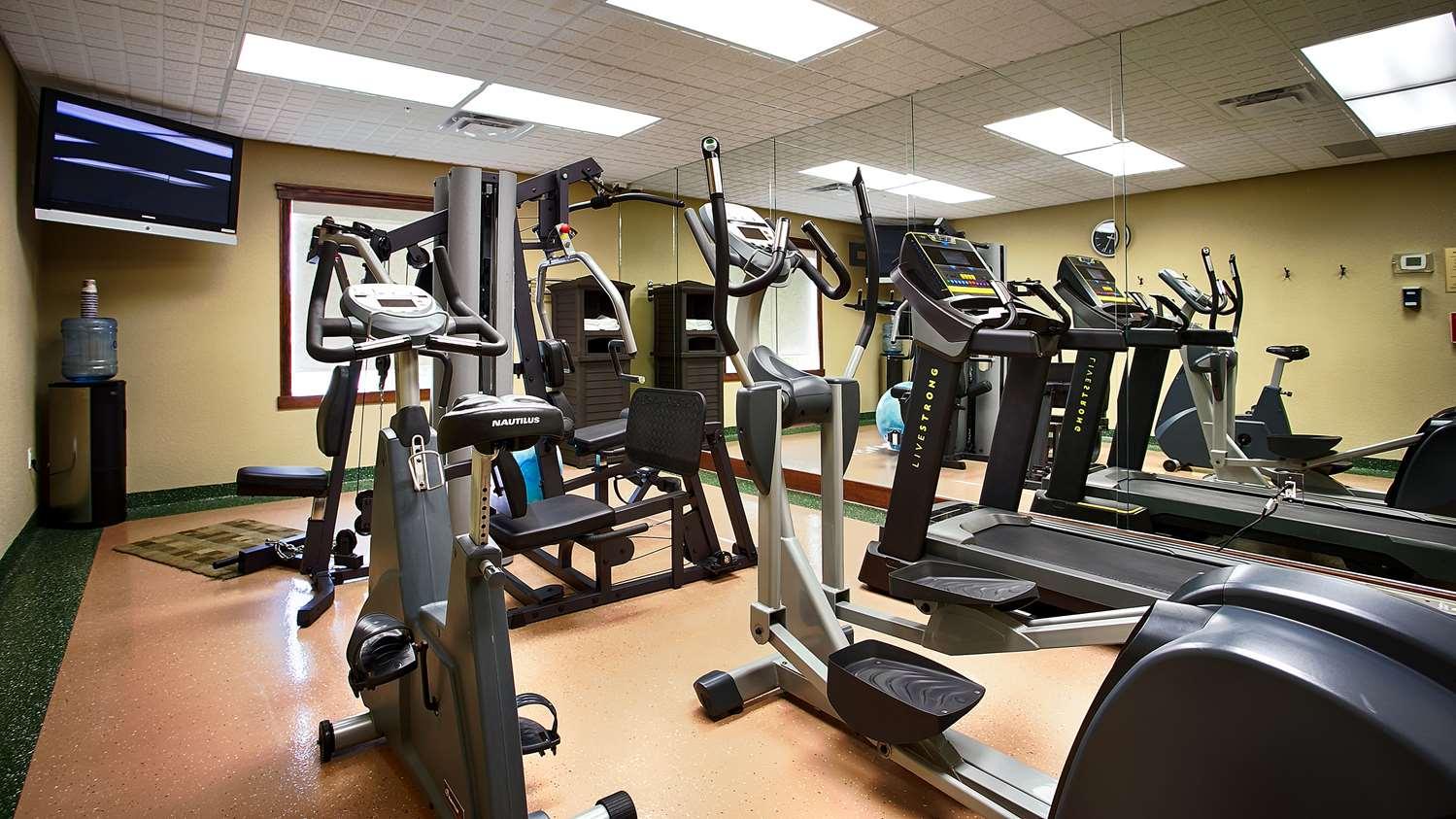 Fitness/ Exercise Room - Best Western Diamond Inn Three Hills