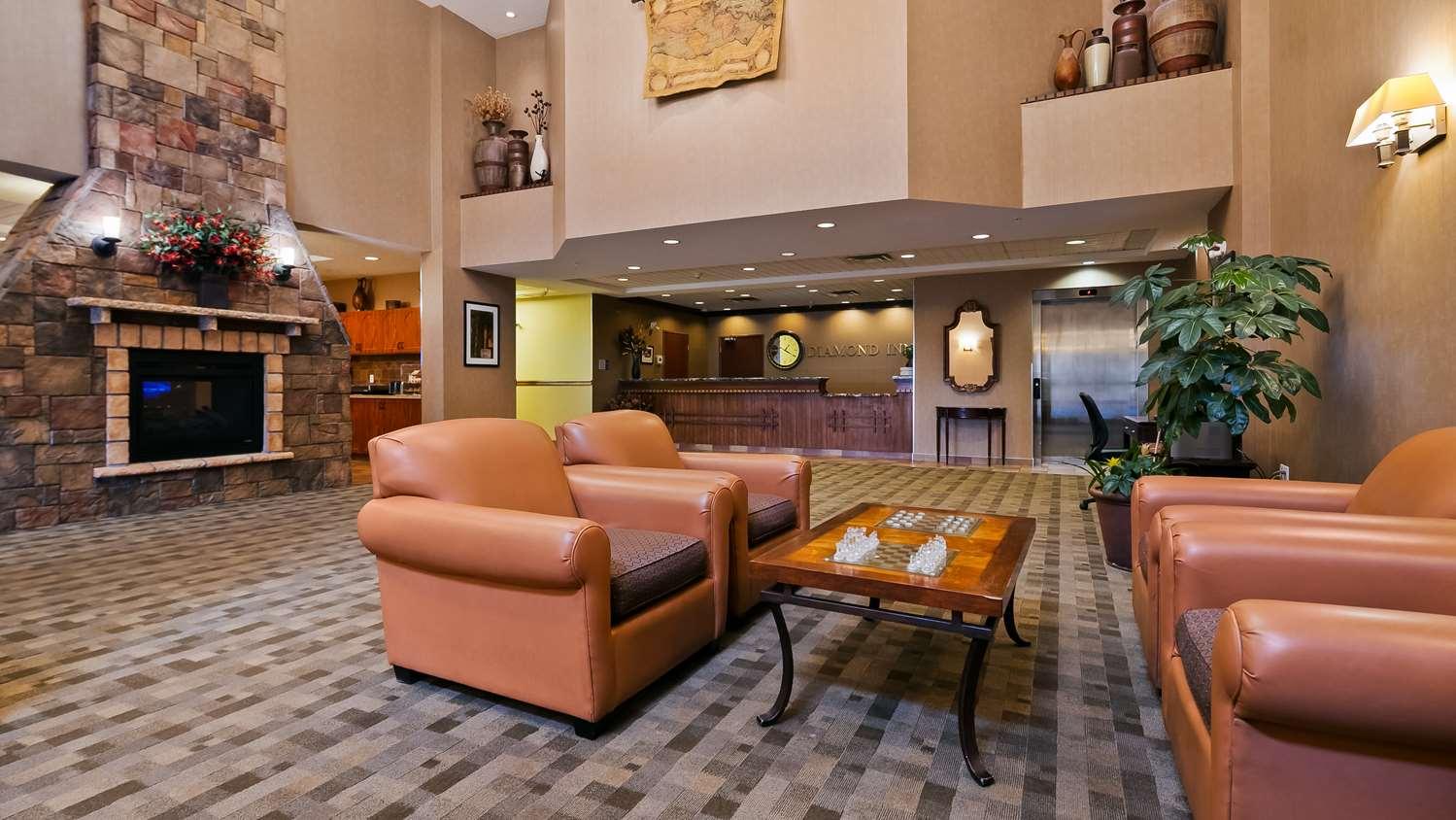Lobby - Best Western Diamond Inn Three Hills