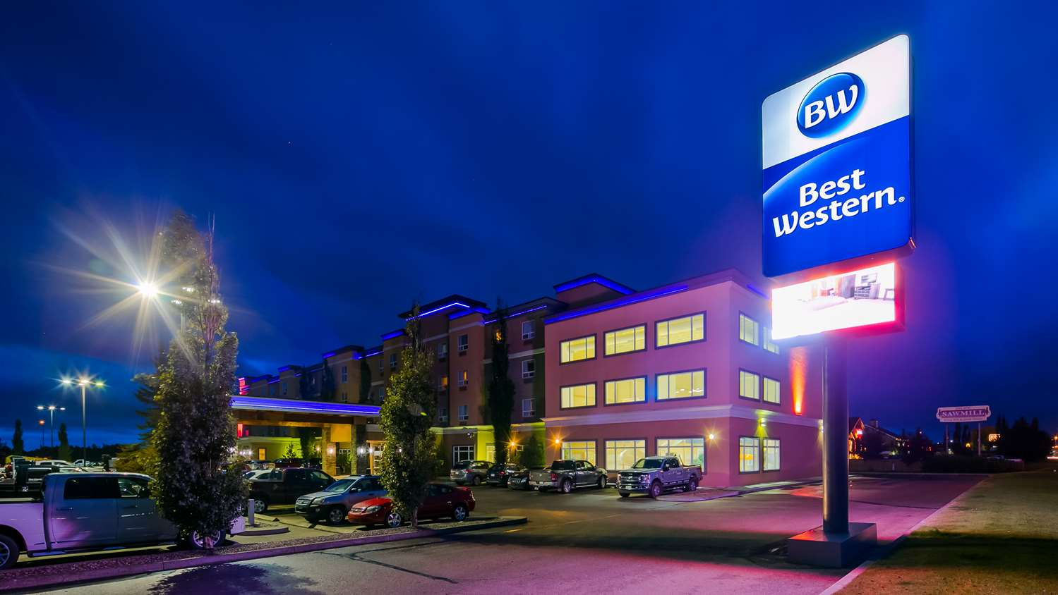 Exterior view - Best Western Sunrise Inn Stony Plain