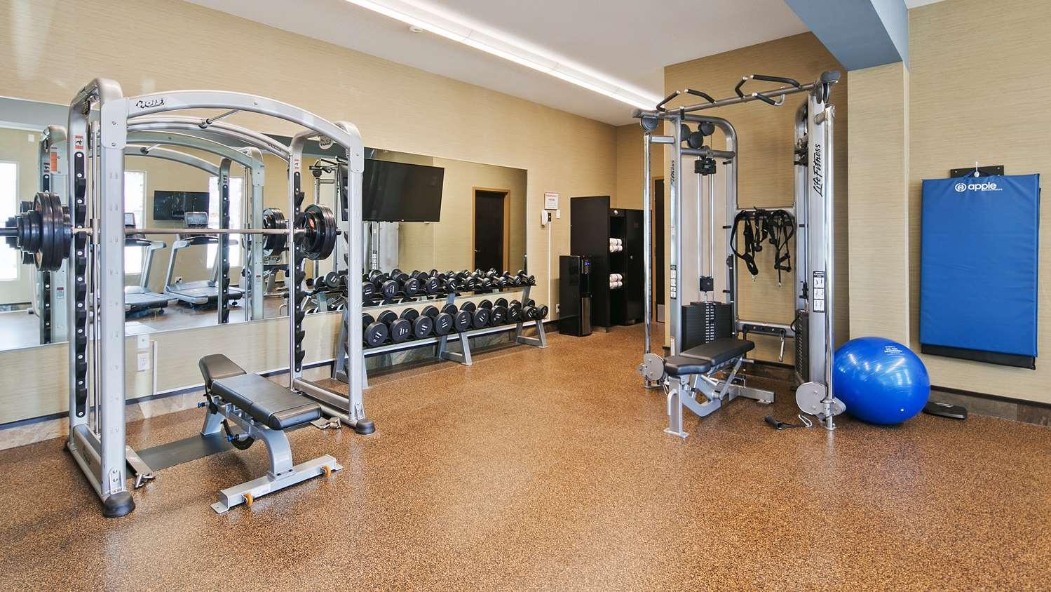 Fitness/ Exercise Room - Best Western Bonnyville Inn & Suites