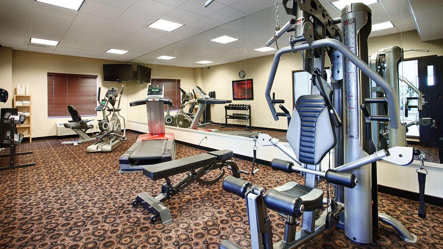 Fitness/ Exercise Room - Best Western Plus South Edmonton Inn & Suites