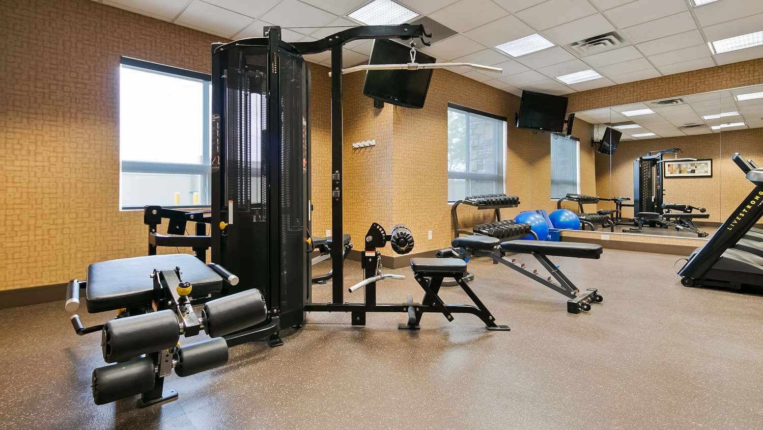 Fitness/ Exercise Room - Best Western Premier Freeport Inn & Suites Calgary
