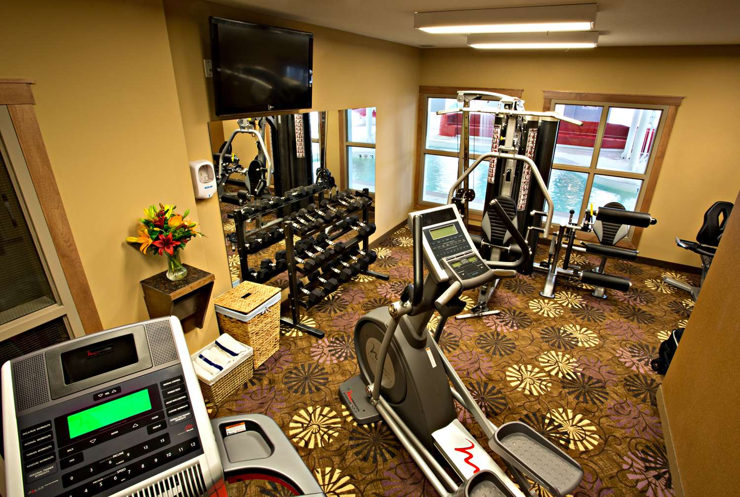 Fitness/ Exercise Room - Best Western Plus Camrose Resort & Casino