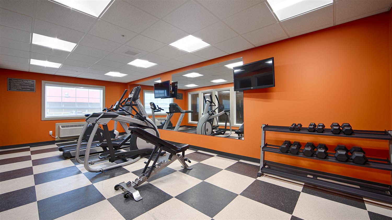 Fitness/ Exercise Room - Best Western Plus Peace River Hotel