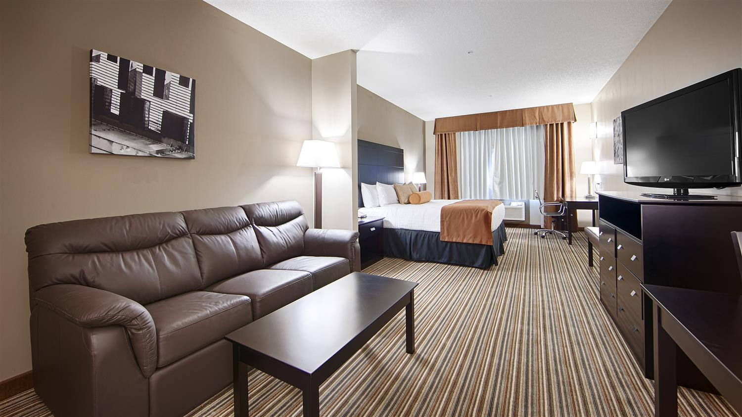 Suite - Best Western Plus Peace River Hotel