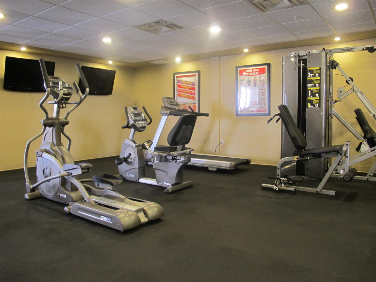 Fitness/ Exercise Room - Best Western Plus Fox Creek Hotel