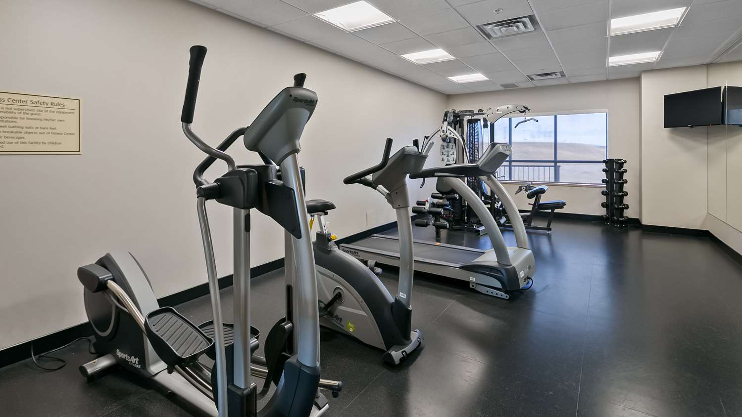 Fitness/ Exercise Room - Best Western Plus Okotoks Inn
