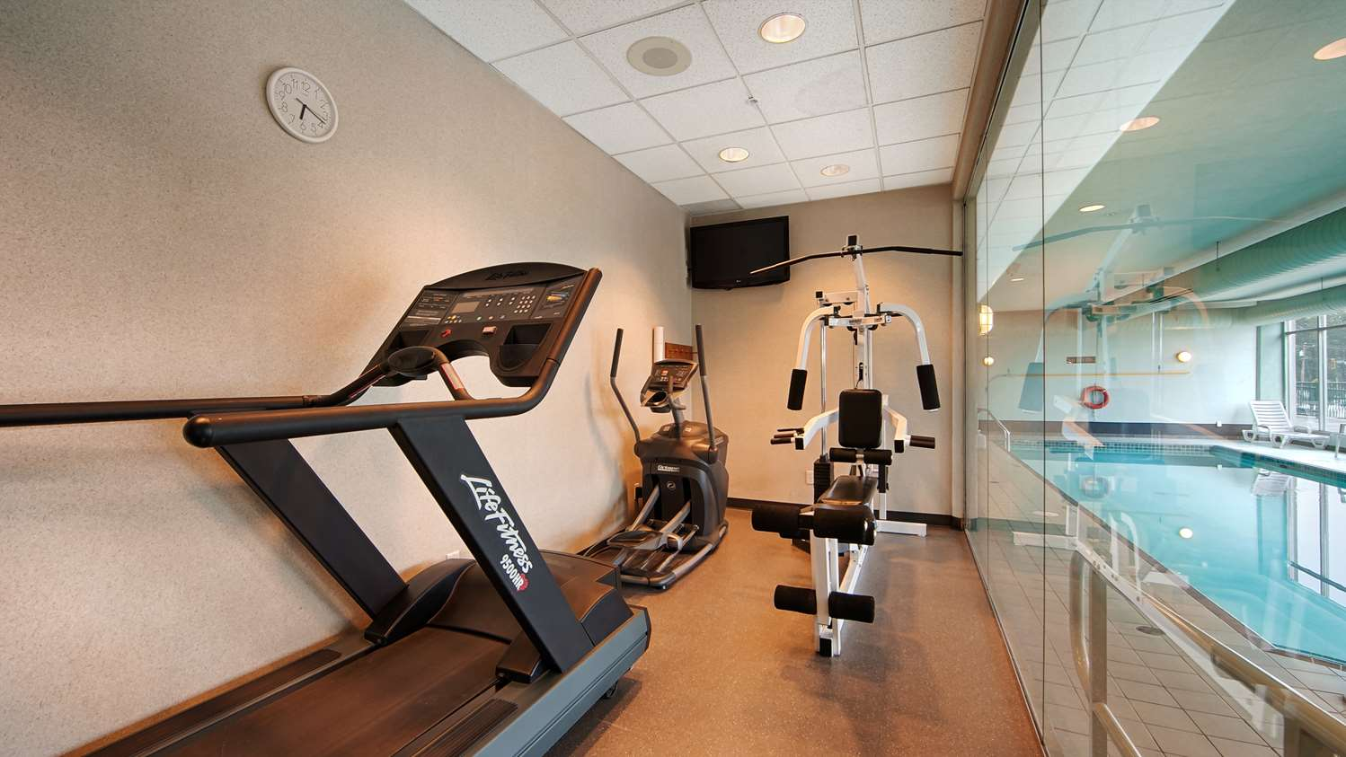 Fitness/ Exercise Room - Best Western Plus Mission City Lodge