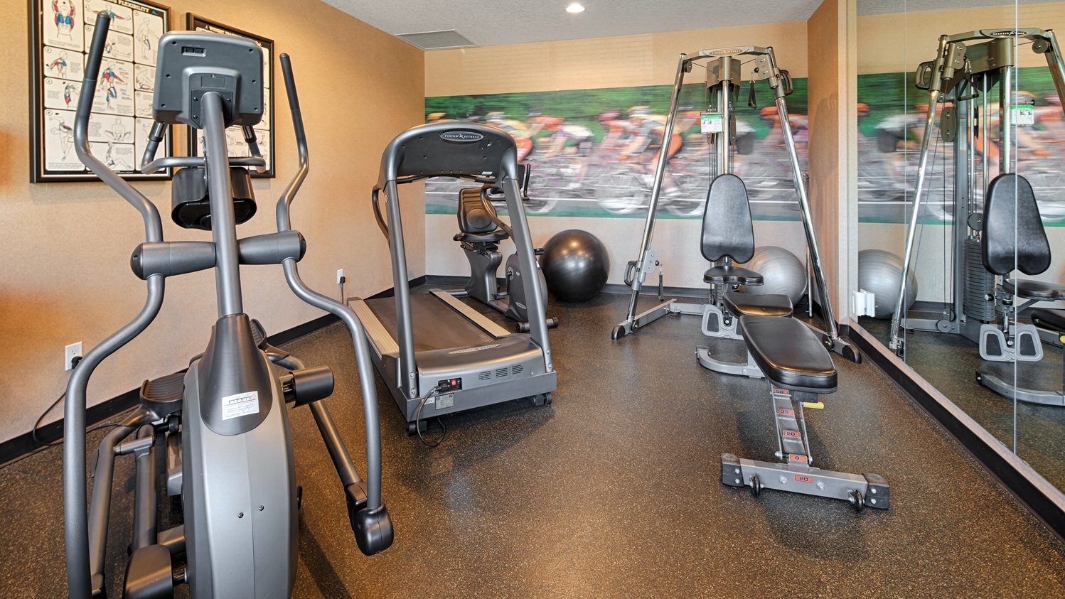 Fitness/ Exercise Room - Best Western Plus Fernie Mountain Lodge