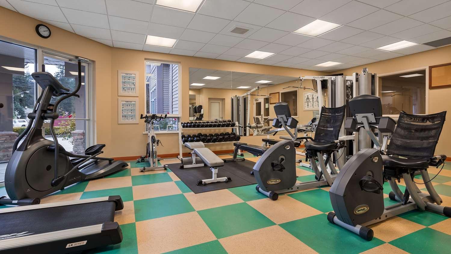 Fitness/ Exercise Room - Best Western Plus Chemainus Inn