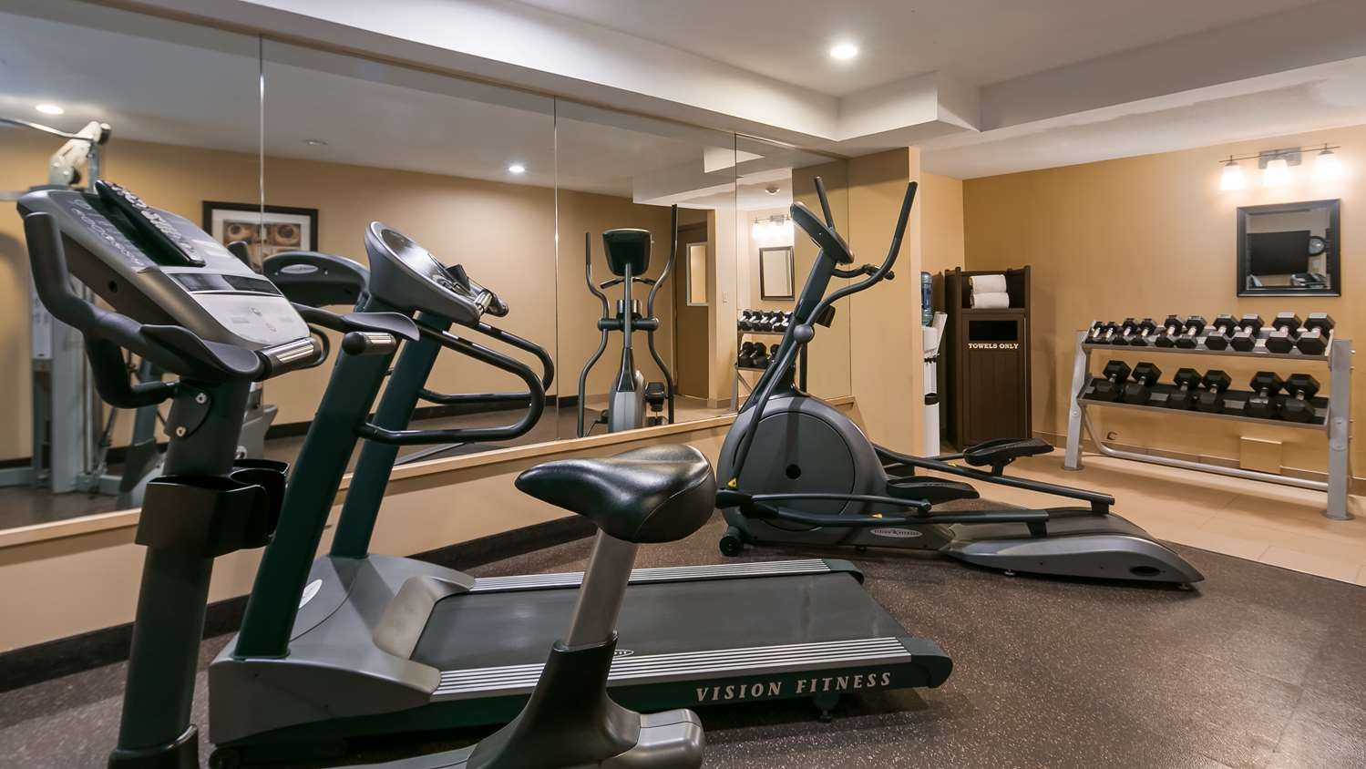 Fitness/ Exercise Room - Best Western Maple Ridge Hotel