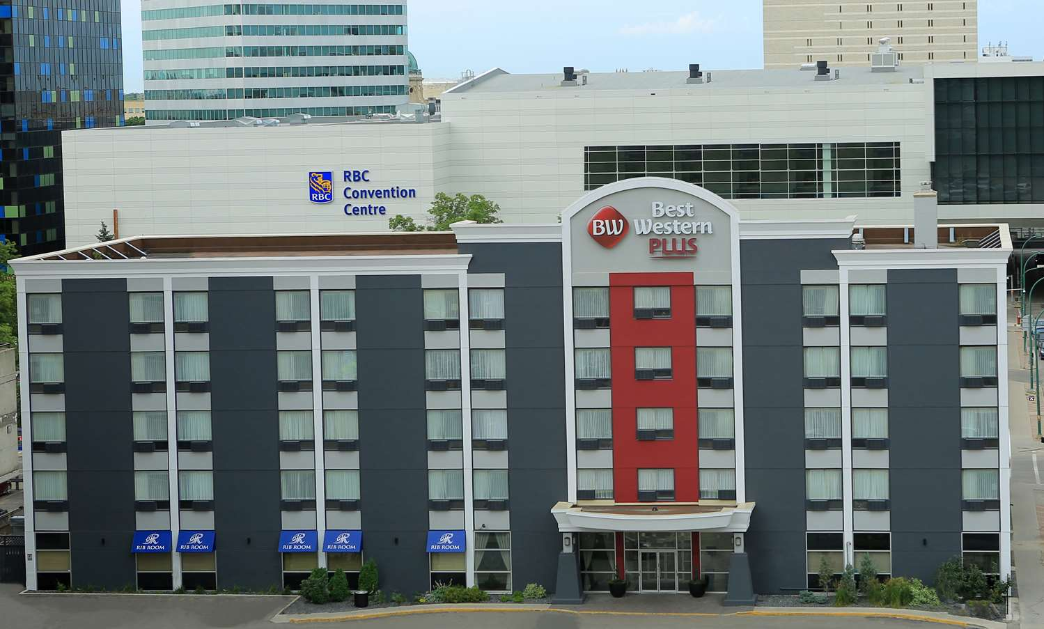 Exterior view - Best Western Plus Hotel Downtown Winnipeg