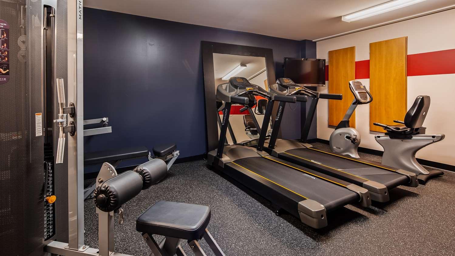 Fitness/ Exercise Room - Best Western Plus Woodstock Hotel