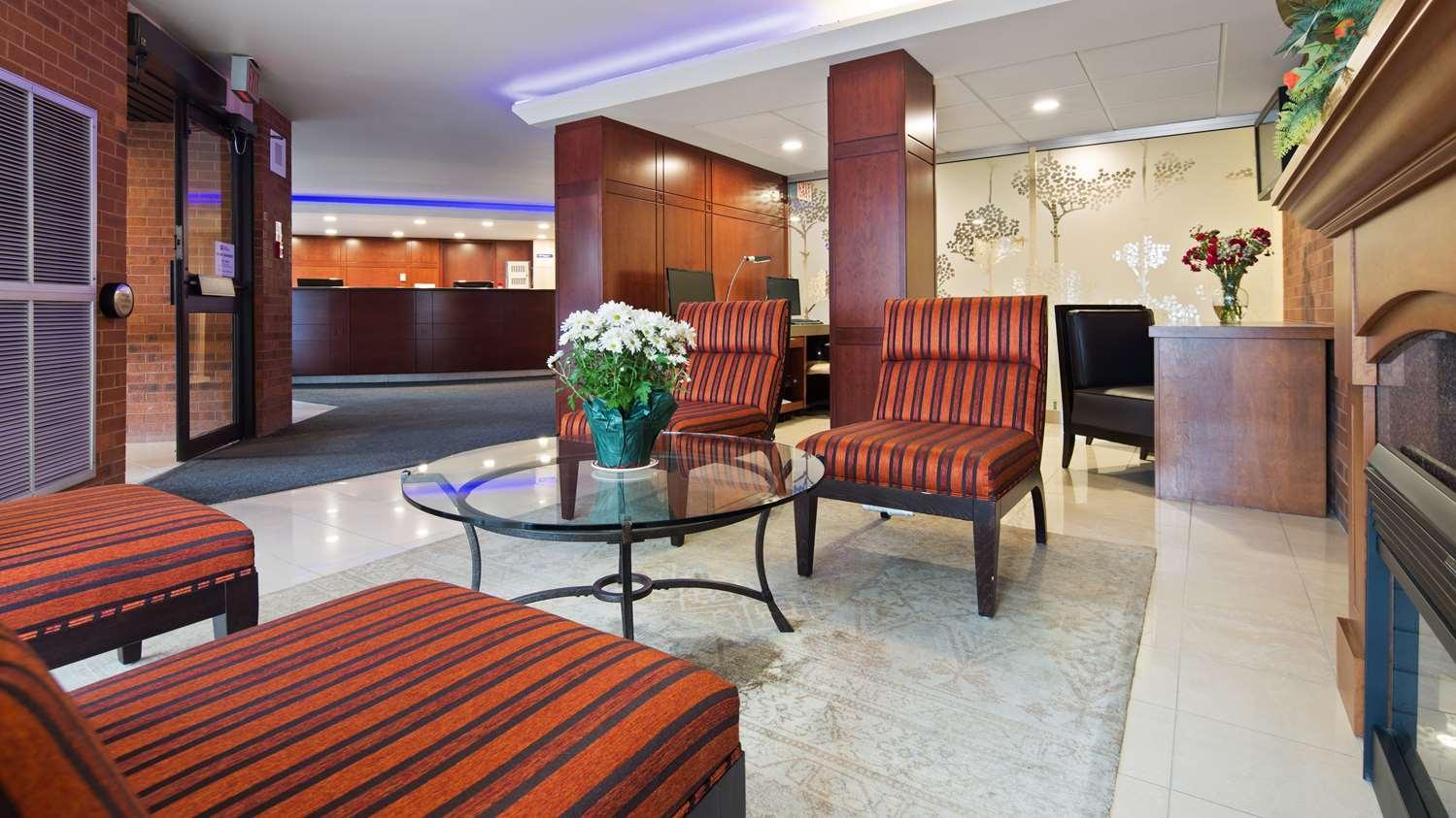 Lobby - Best Western Plus Ottawa City Centre