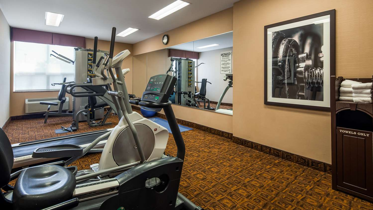 Fitness/ Exercise Room - Best Western Plus Barrie Hotel