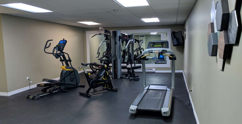 Fitness/ Exercise Room - Best Western Swan Castle Inn Cochrane