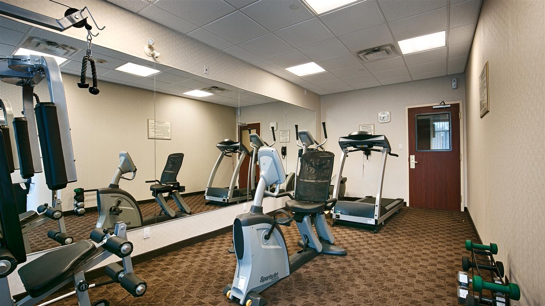 Fitness/ Exercise Room - Best Western Plus Travel Hotel Toronto