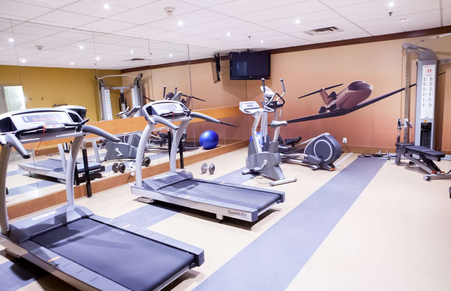 Fitness/ Exercise Room - Best Western Premier Toronto Airport Carlingview Hotel