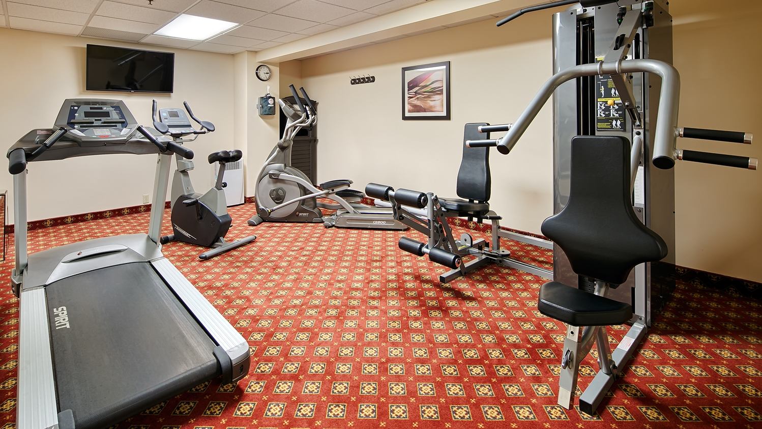 Fitness/ Exercise Room - Best Western Plus Gatineau Hotel