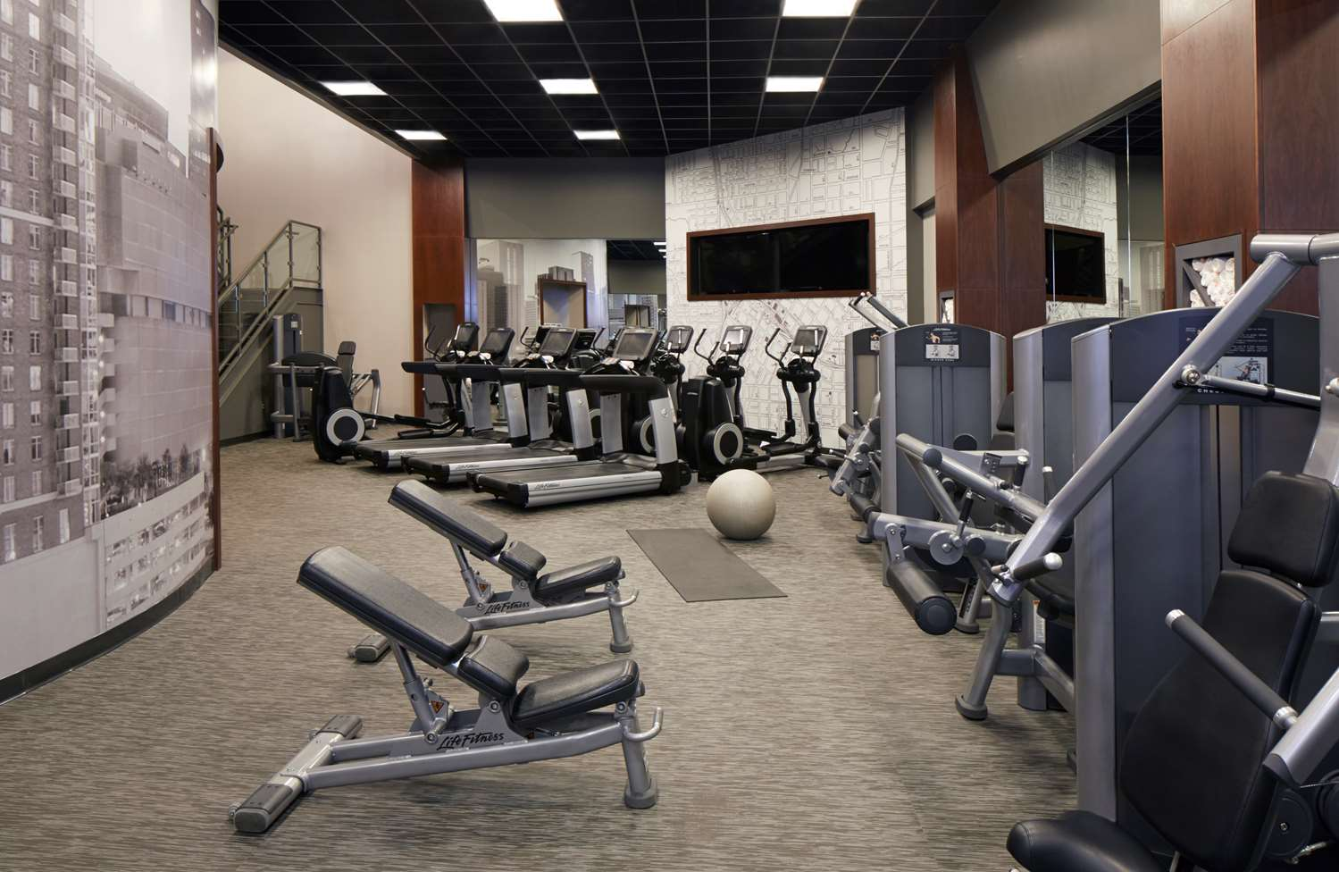 Fitness/ Exercise Room - Hyatt Regency Hotel Atlanta