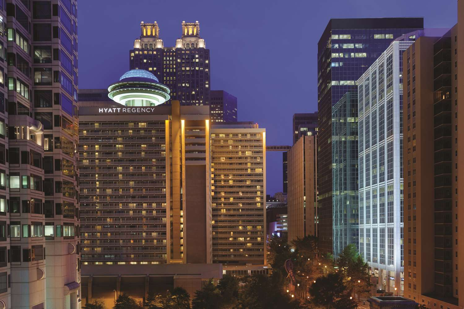 Exterior view - Hyatt Regency Hotel Atlanta