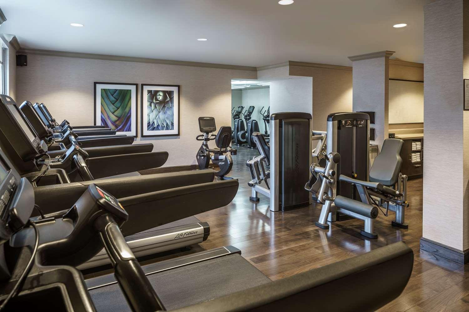 Fitness/ Exercise Room - Hyatt Regency Hotel Coral Gables