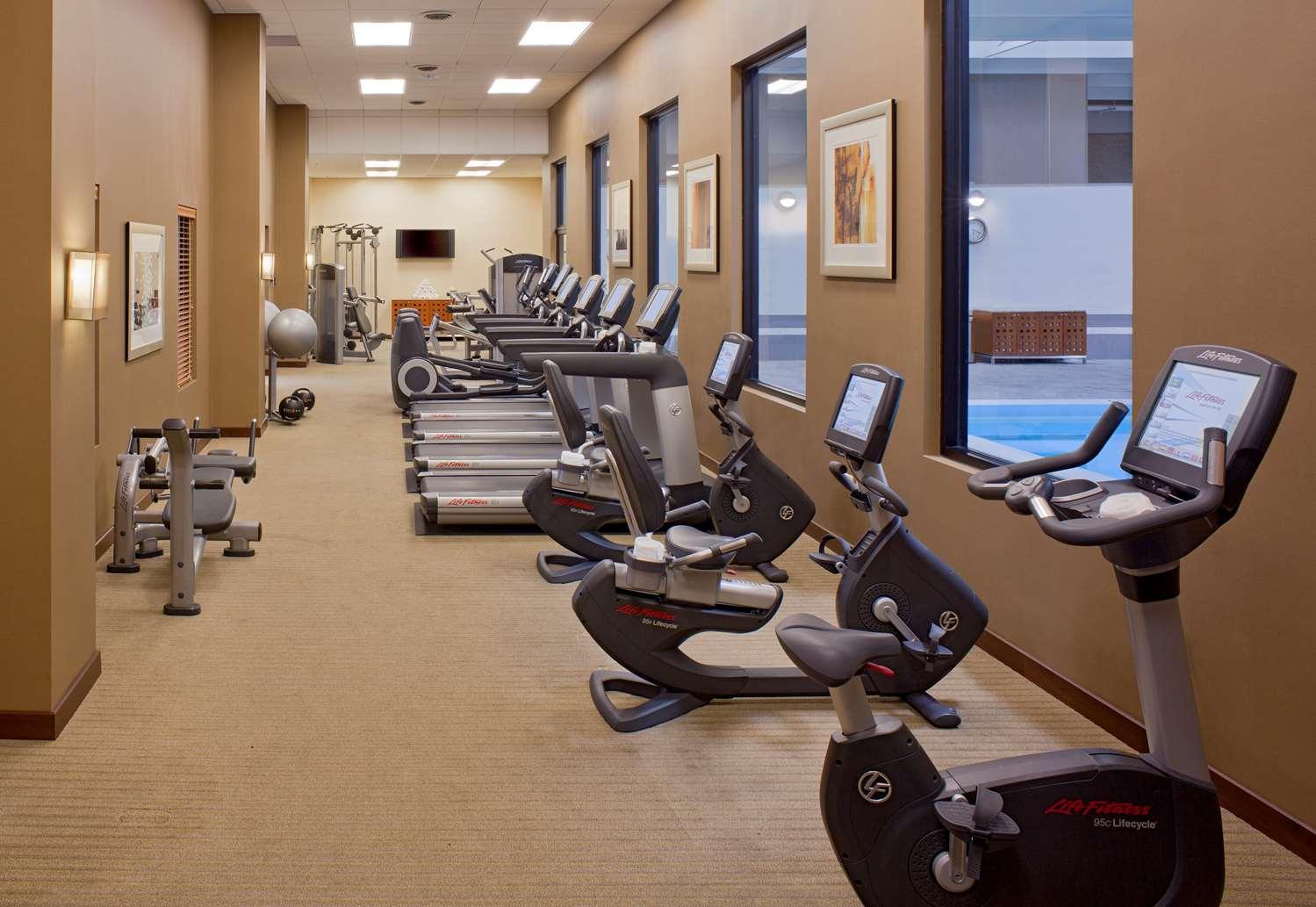 Fitness/ Exercise Room - Grand Hyatt Hotel Denver