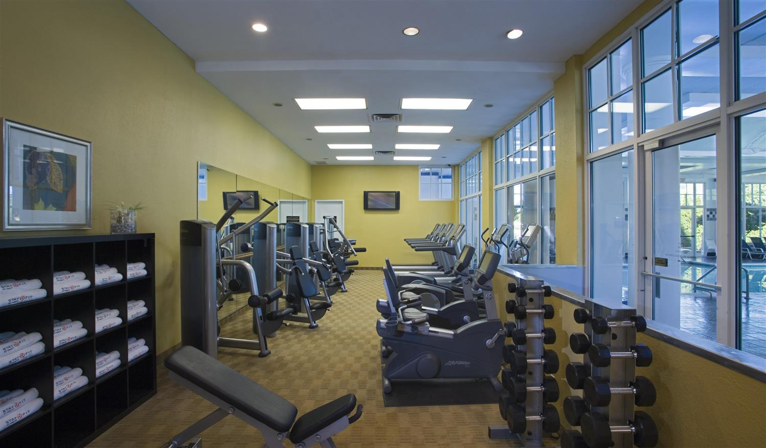 Fitness/ Exercise Room - Hyatt Regency Hotel Long Island Hauppauge ...