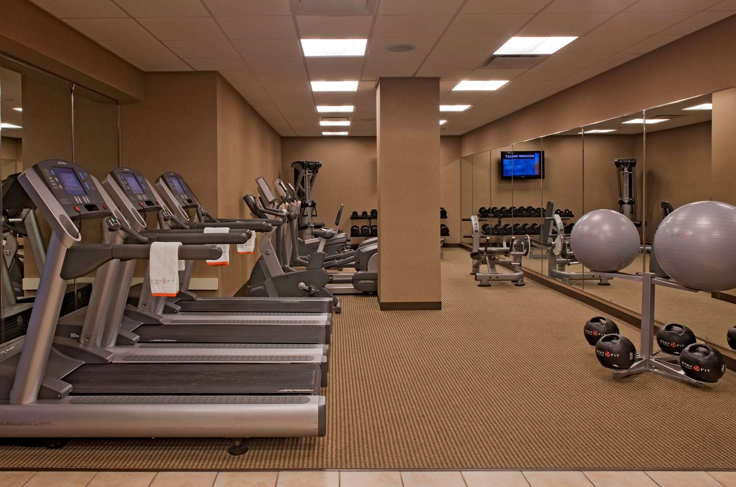 Fitness/ Exercise Room - Hyatt Regency Hotel Lisle