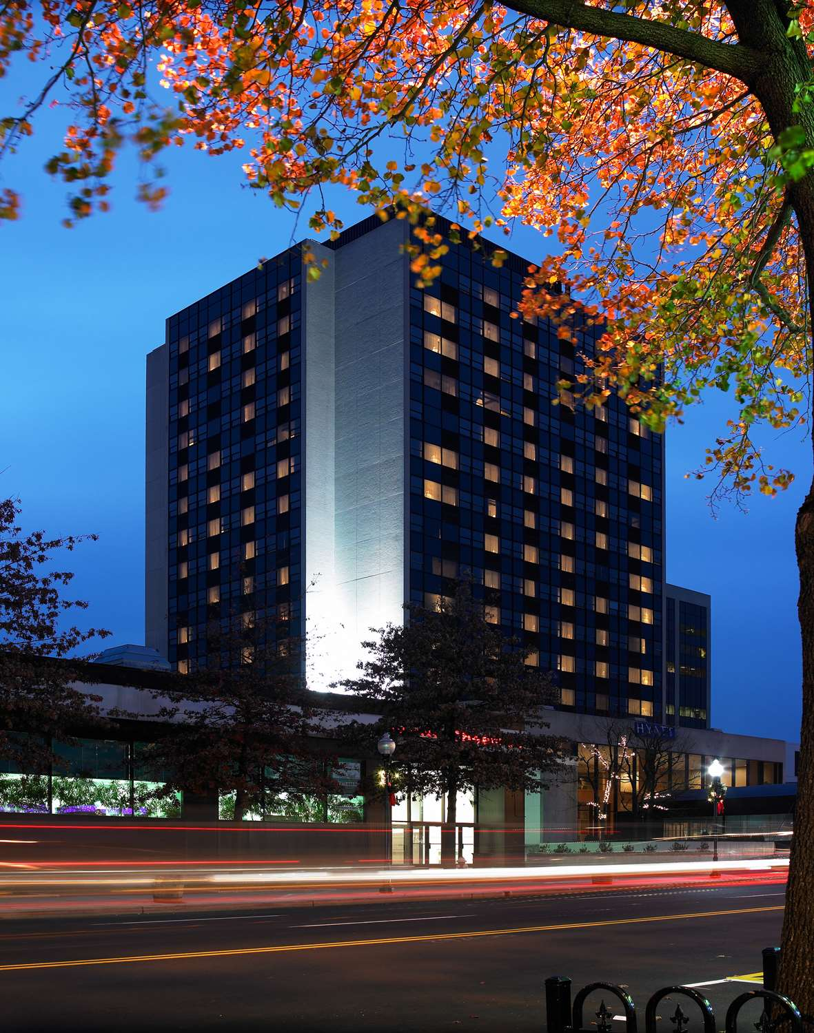 Exterior view - Hyatt Regency Hotel Headquarters Plaza Morristown