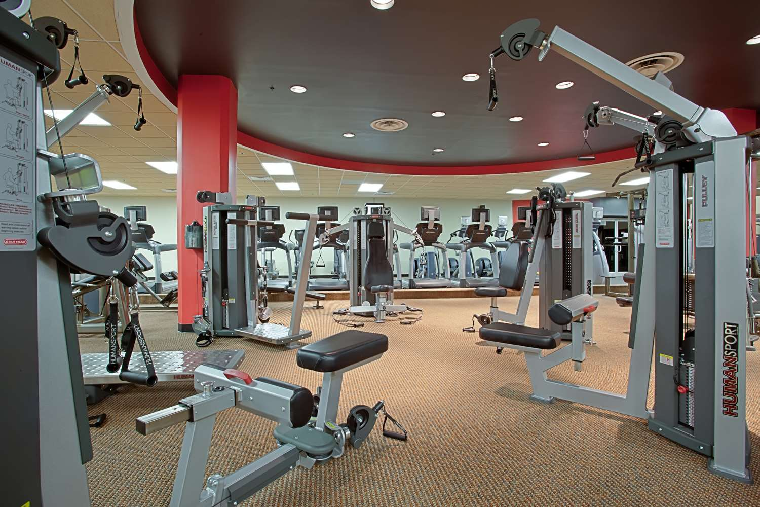 Fitness/ Exercise Room - Hyatt Regency Hotel Headquarters Plaza Morristown