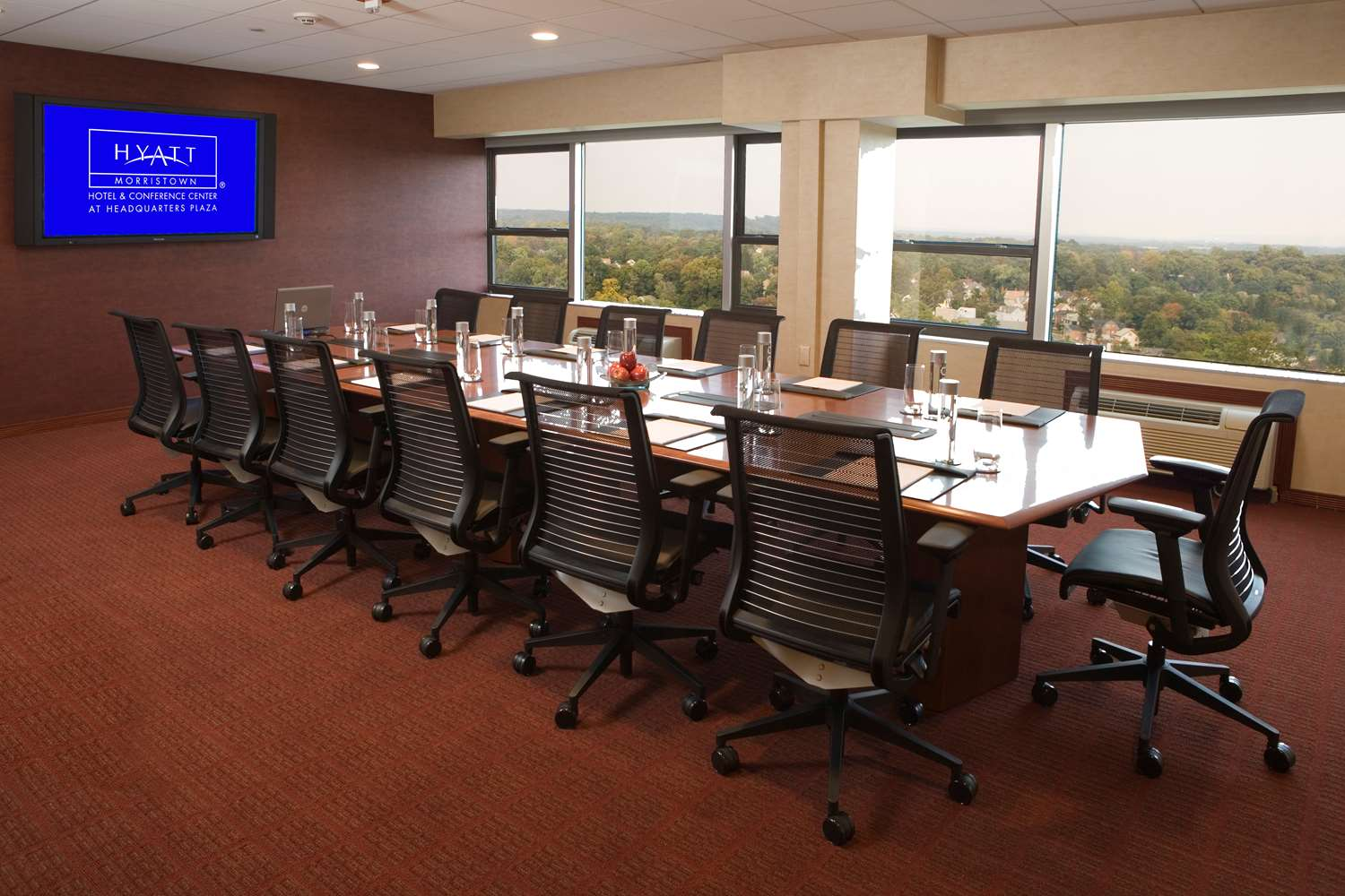 Meeting Facilities - Hyatt Regency Hotel Headquarters Plaza Morristown