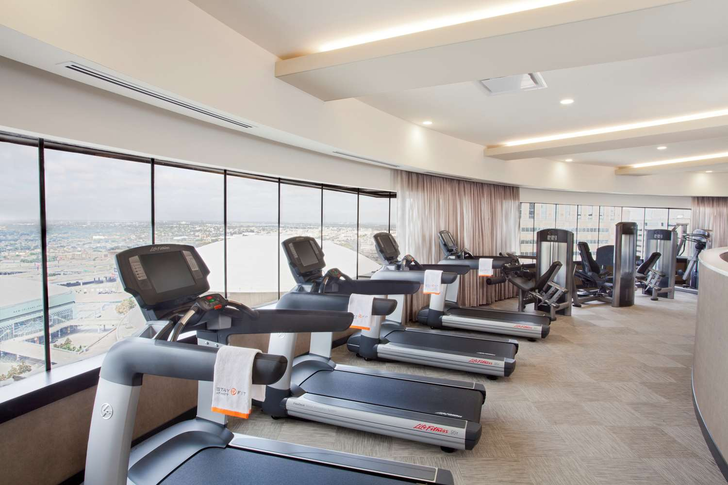 Fitness/ Exercise Room - Hyatt Regency Hotel New Orleans