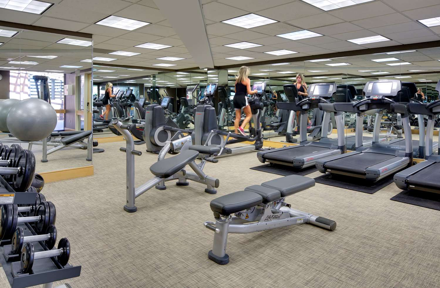 Fitness/ Exercise Room - Hyatt Regency Hotel Princeton