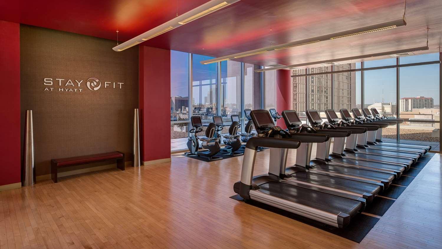 Fitness/ Exercise Room - Grand Hyatt Hotel San Antonio