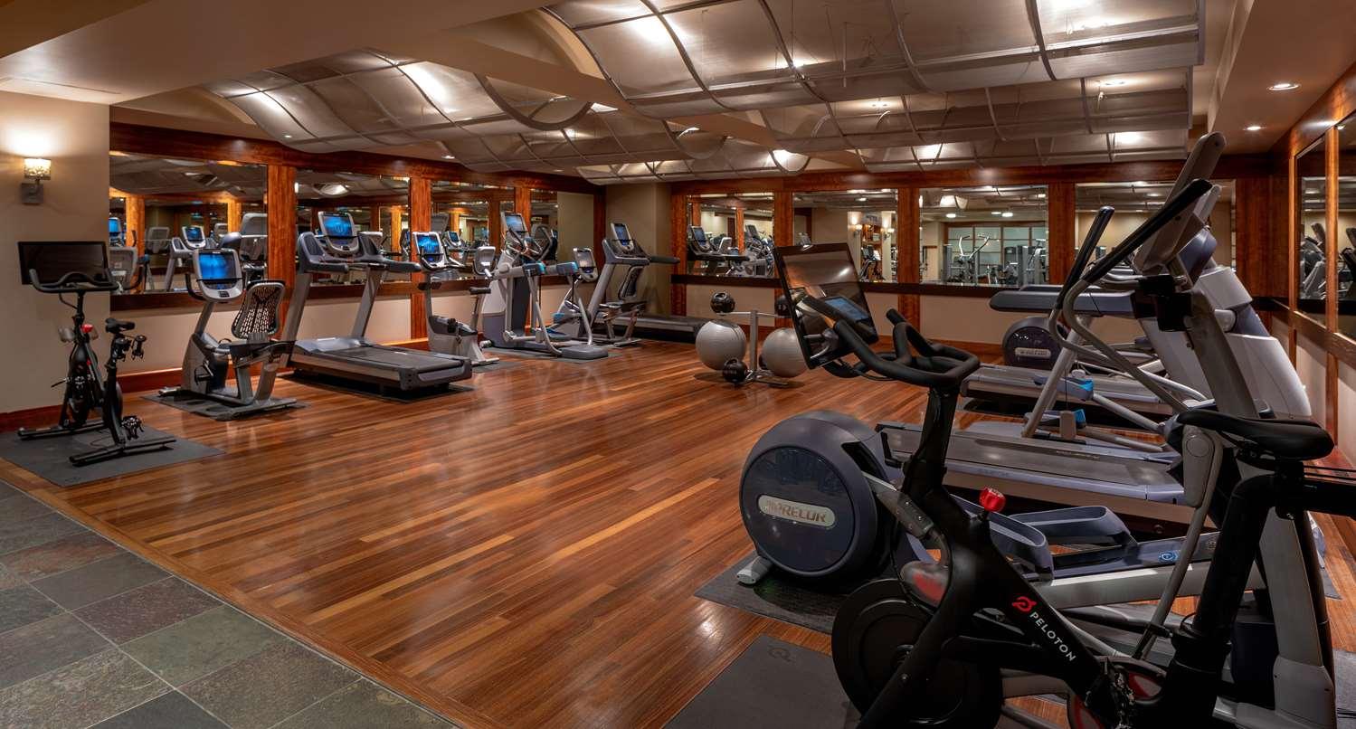 Fitness/ Exercise Room - Grand Hyatt Hotel Seattle