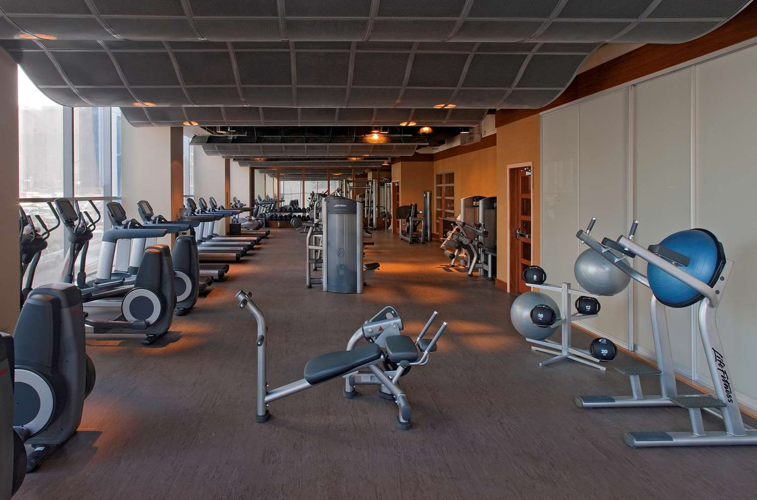 Fitness/ Exercise Room - Hyatt Hotel at Olive 8 Seattle