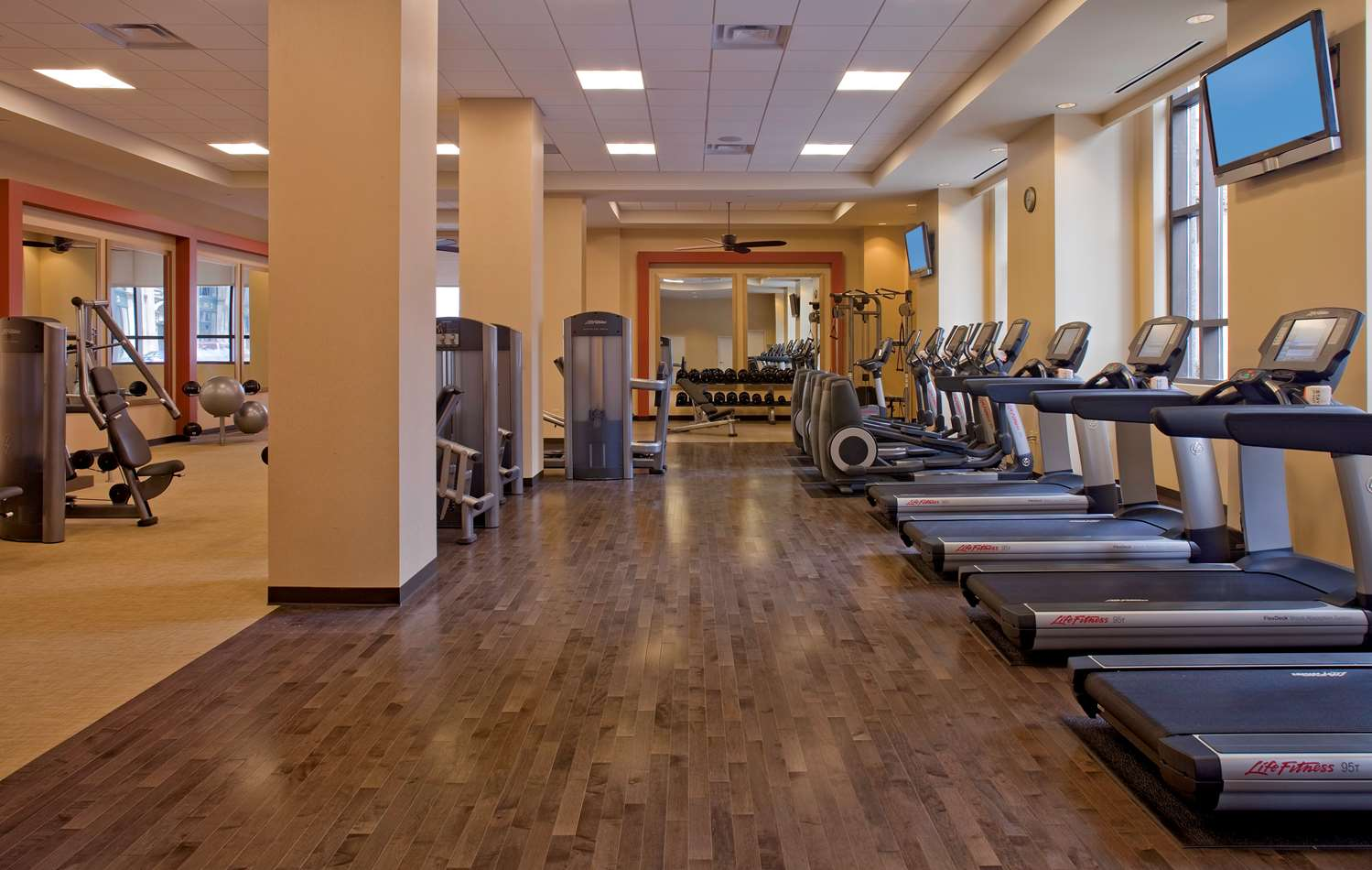 Fitness/ Exercise Room - Hyatt Regency Hotel St Louis