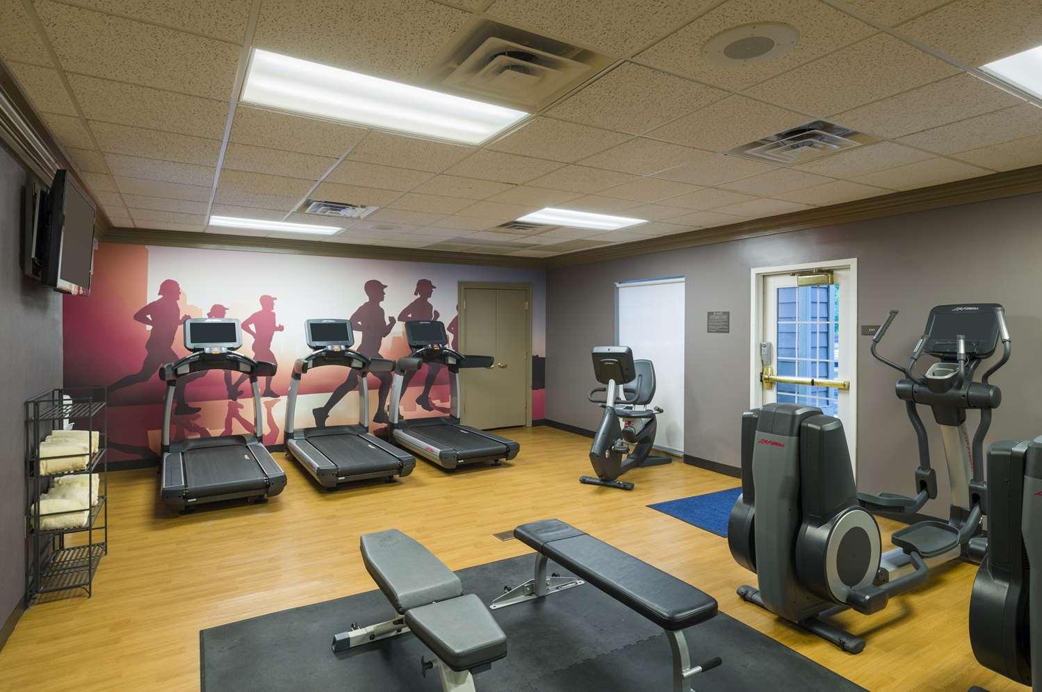 Fitness/ Exercise Room - Hyatt House Hotel Bridgewater