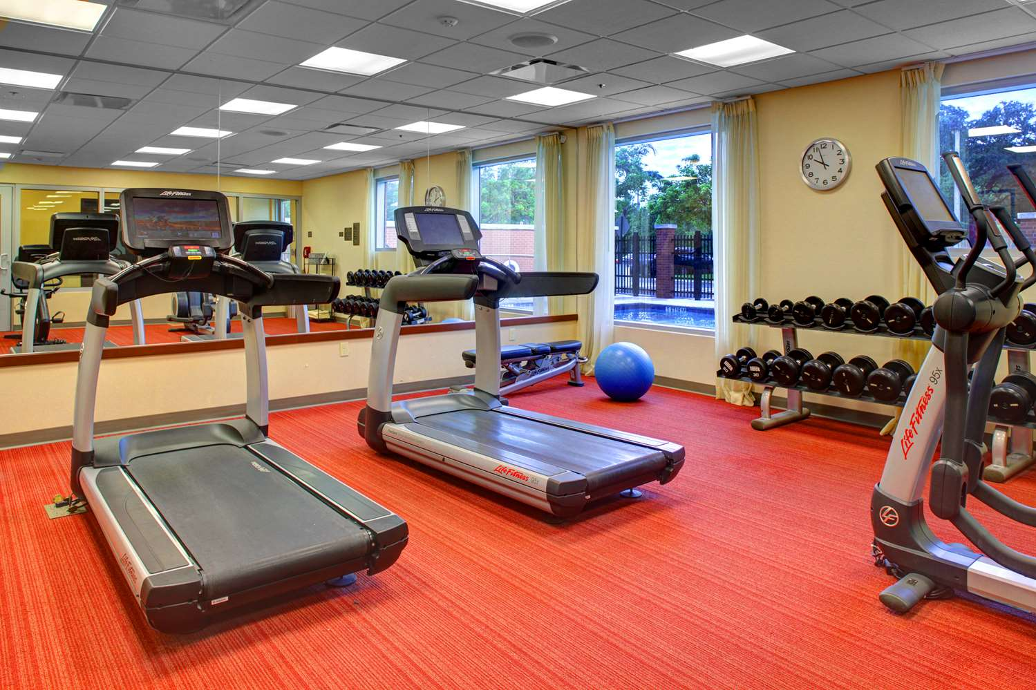 Fitness/ Exercise Room - Hyatt Place Hotel City Park Charlotte