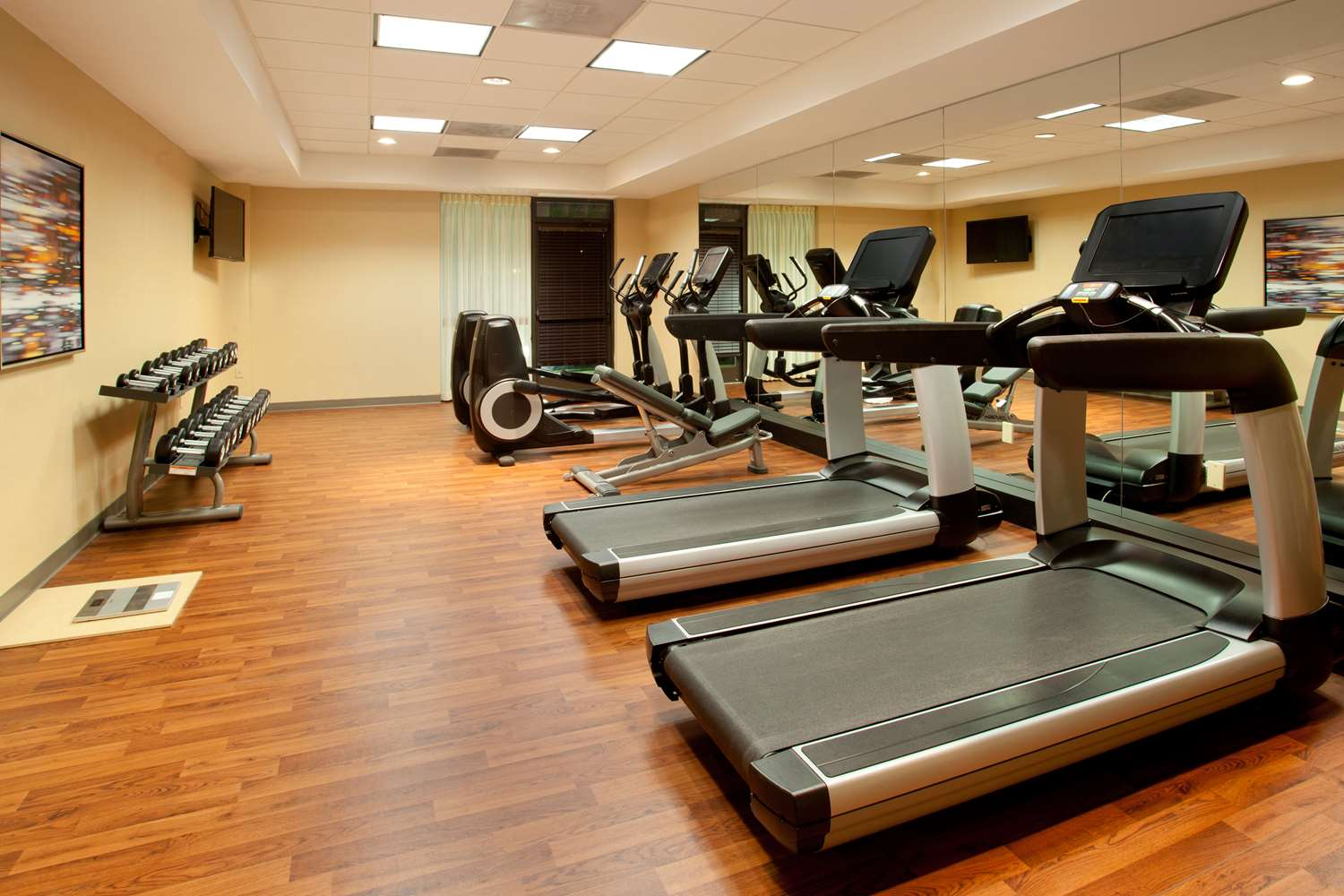 Fitness/ Exercise Room - Hyatt Place Hotel Arlington