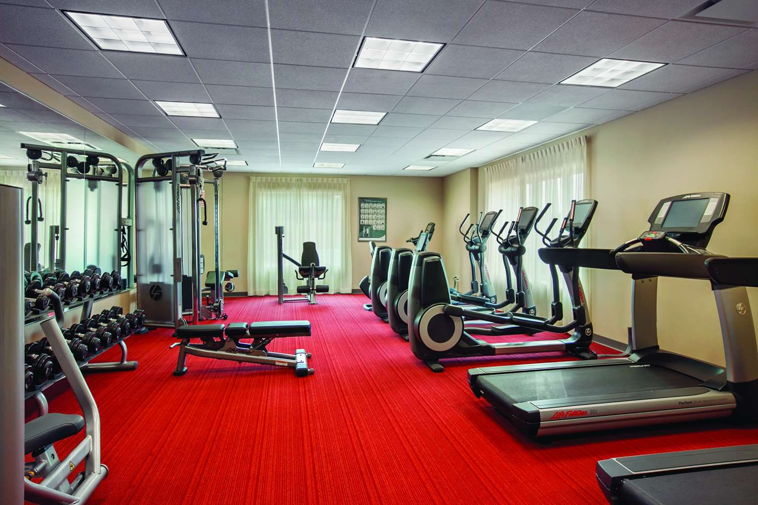 Fitness/ Exercise Room - Hyatt Place Hotel West Raleigh