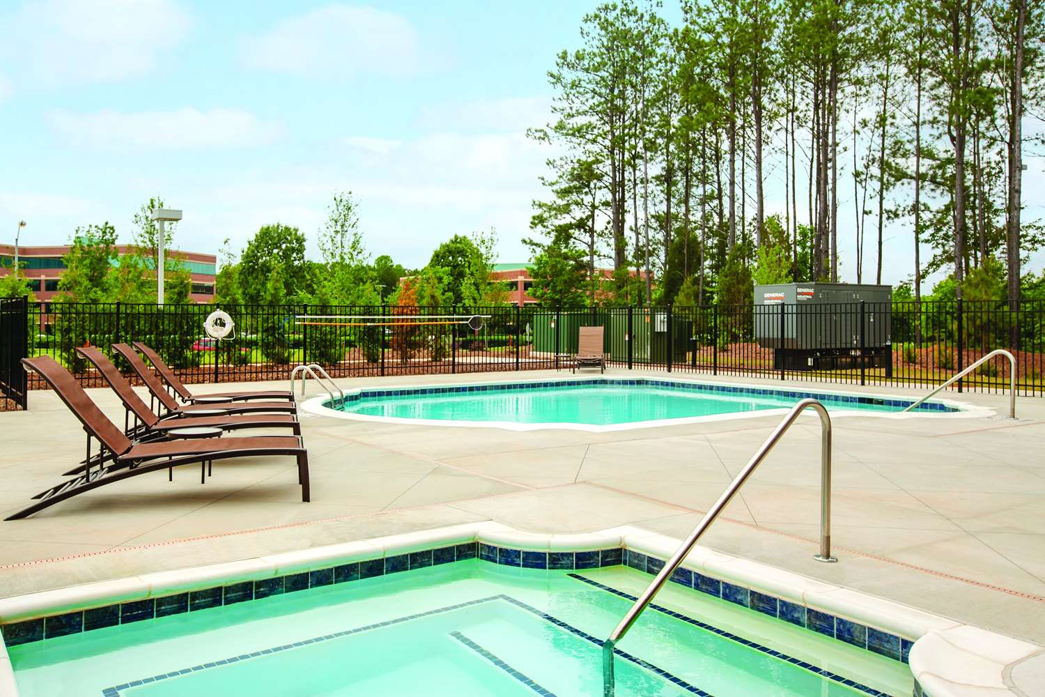 Pool - Hyatt Place Hotel West Raleigh