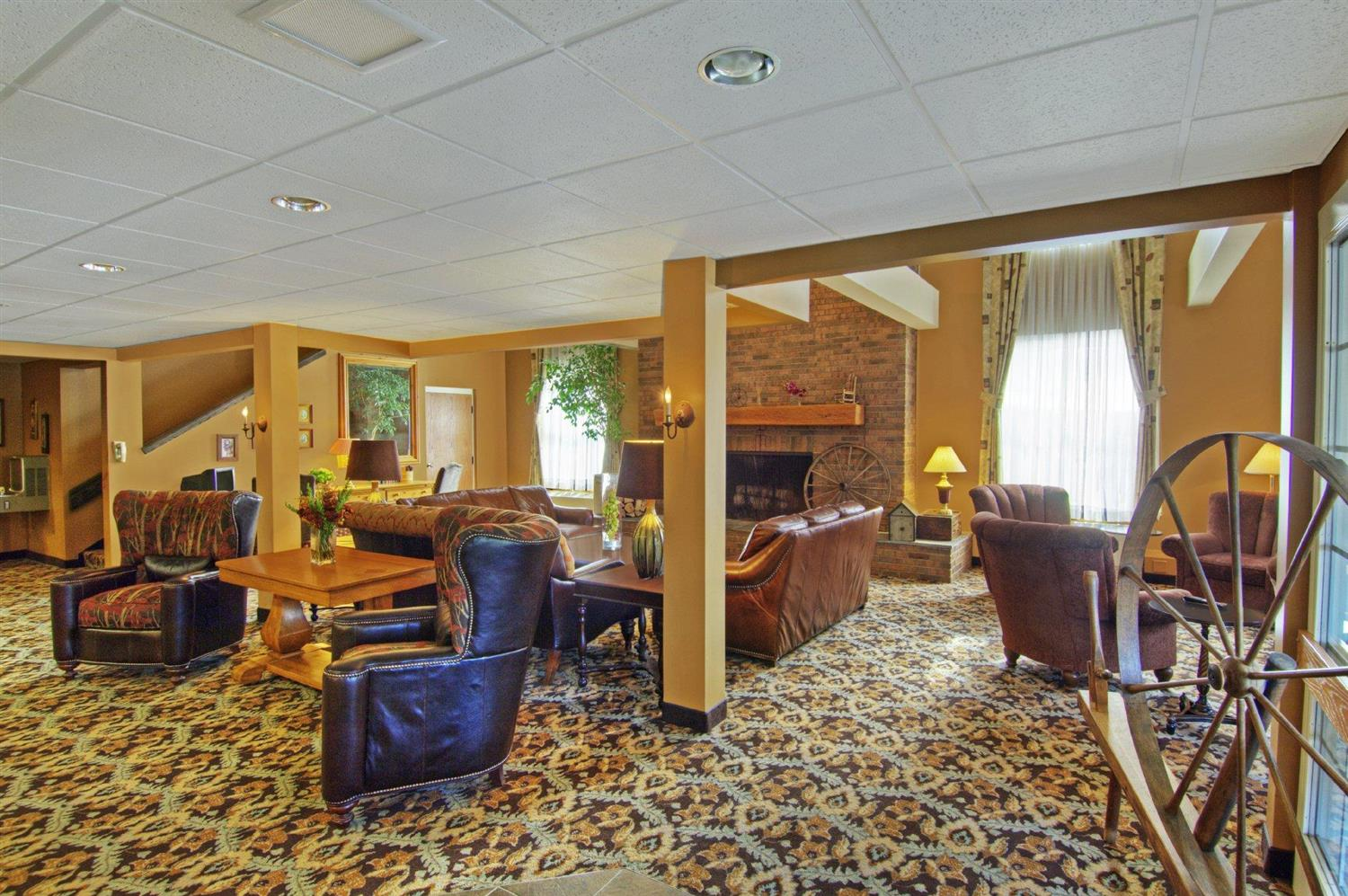 Lobby - Pointe at Castle Hill Resort Proctorsville