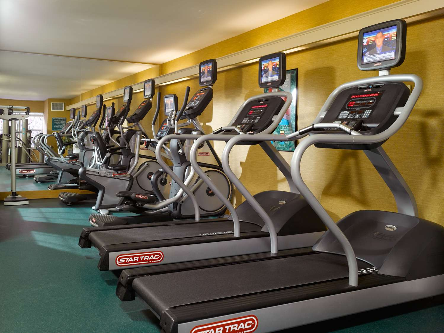 Fitness/ Exercise Room - Green Mountain Suites South Burlington