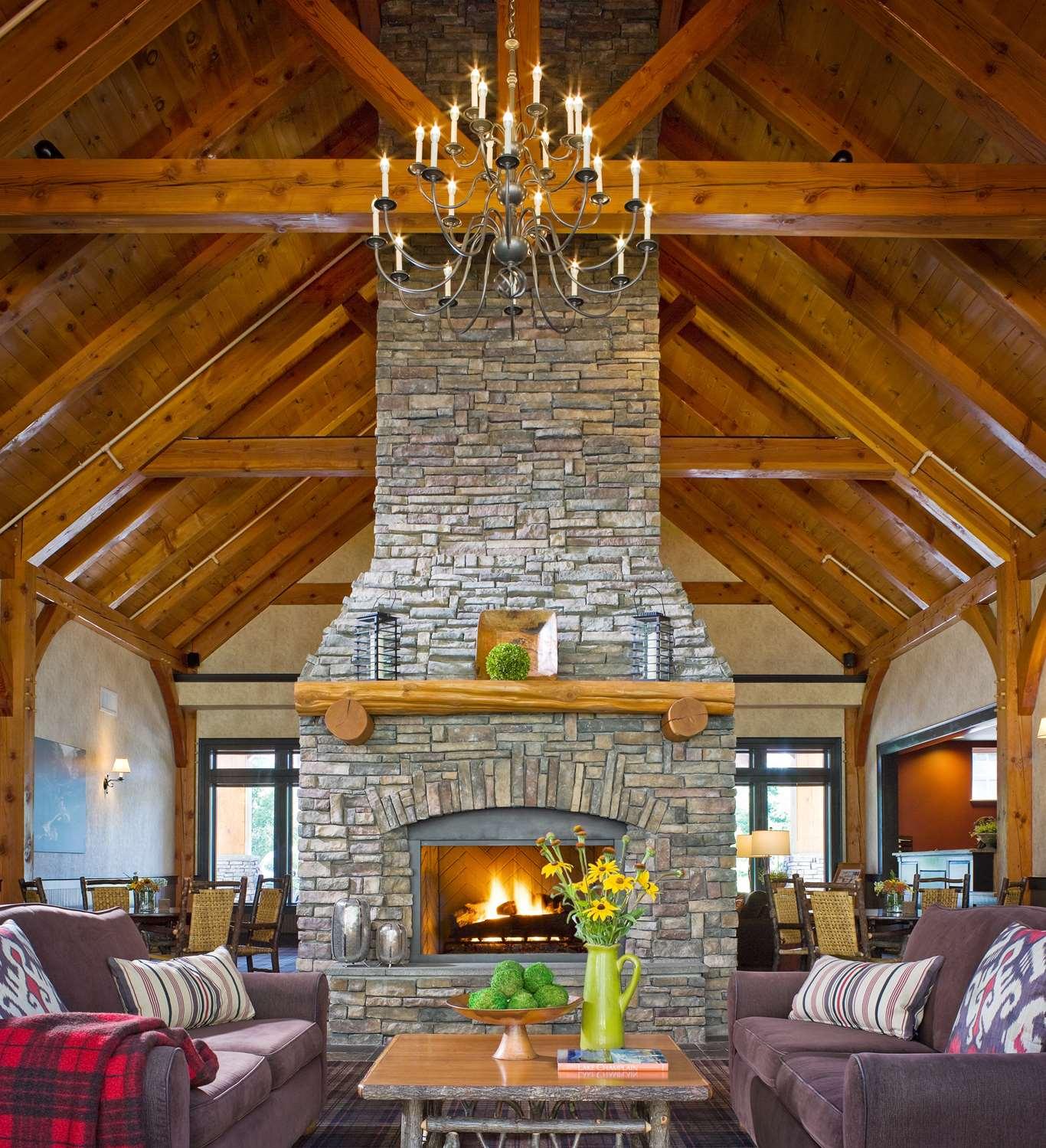 Lobby - Green Mountain Suites South Burlington