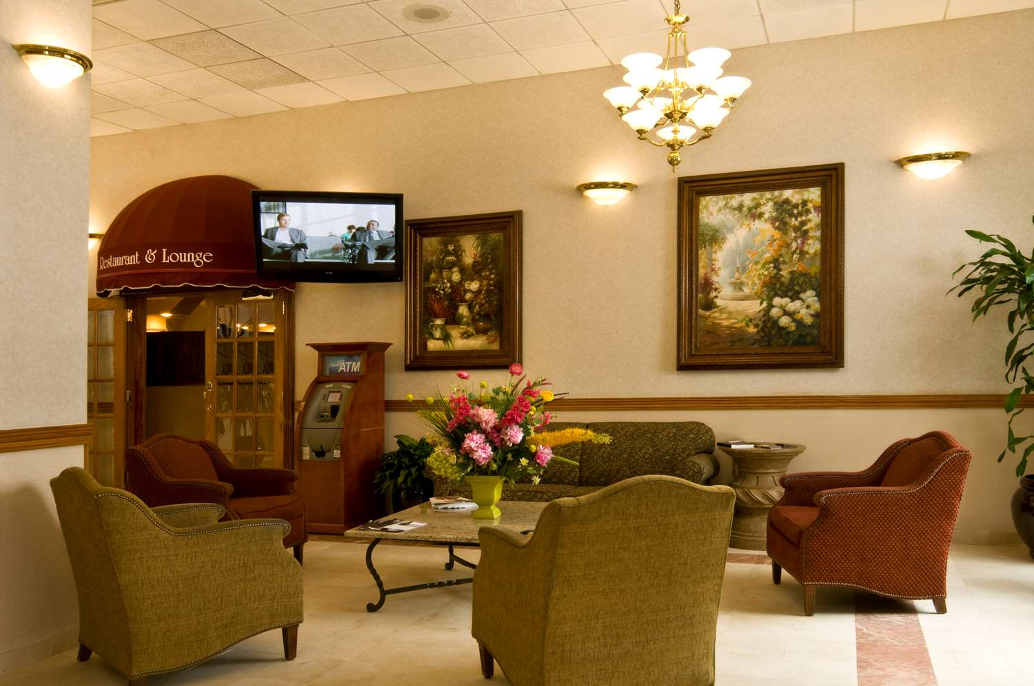 Lobby - Meadowlands Plaza Hotel Secaucus