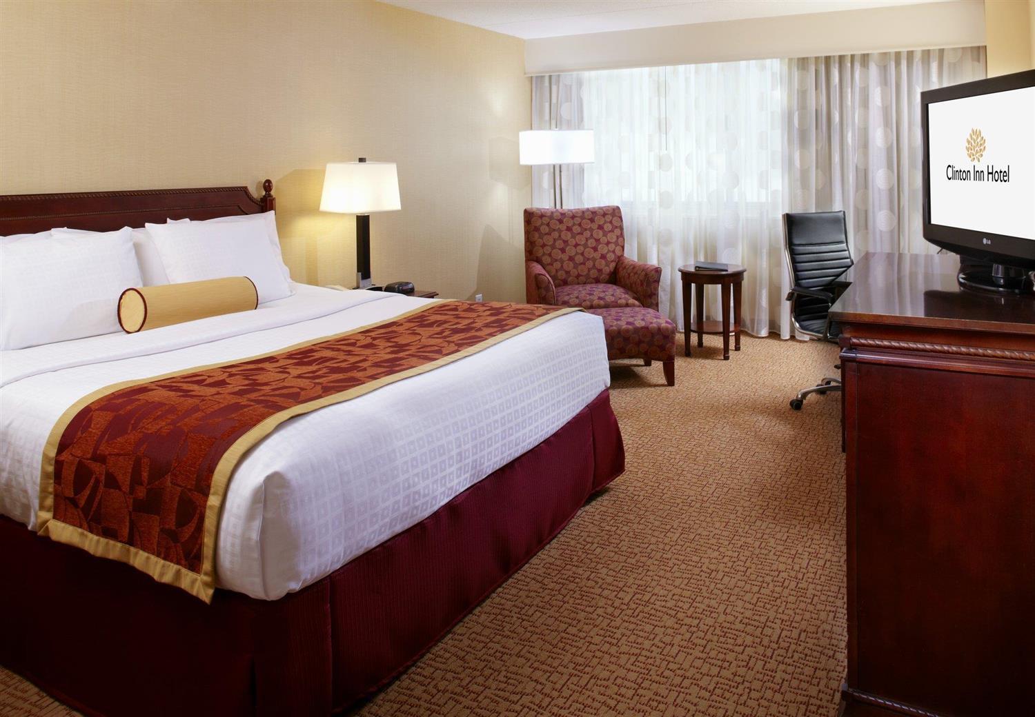 Room - Clinton Inn Hotel Tenafly