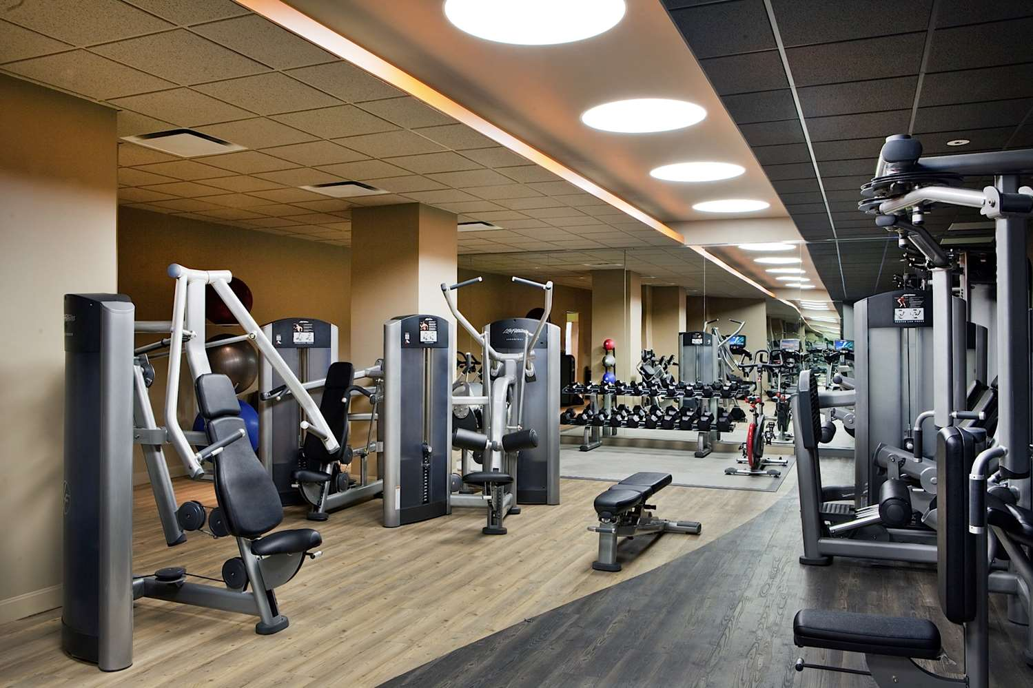 Fitness/ Exercise Room - Ocean Place Resort and Spa Long Branch